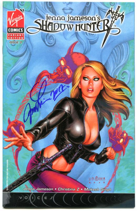 JENNA JAMESON'S SHADOW HUNTER 2, NM, Signed Joseph Linsner, 2007, more in store