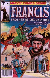 Francis Brother of the Universe #1 - 9.0 or Better