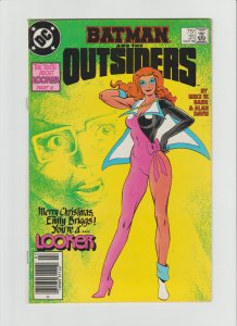 Batman & The Outsiders #31 Copper Age Scarce Newsstand Variant! FINE+