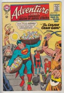 Adventure Comics #360 (Sep-67) FN+ Mid-High-Grade Legion of Super-Heroes, Sup...