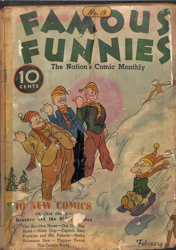 Famous Funnies #19 (1936)