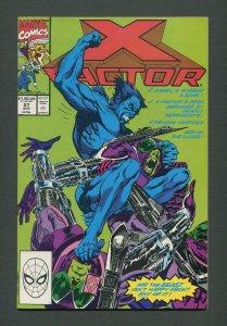 X-Factor #57  / 9.6 NM+ /  August 1990