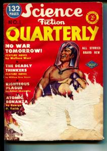 Science Fiction Quarterly-#1-Pulps-1951-Wallace West-Lester del Rey
