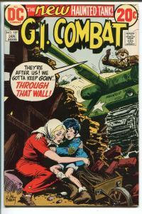 G.I. COMBAT #157 1972-DC-THE NEW HAUNTED TANK-GLANZMAN-RIC ESTARDA-KUBERT-vf