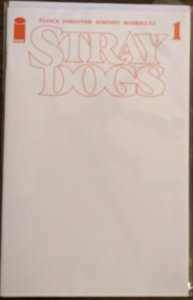 Stray Dogs #1. Blank Sketch Variant - 5th Printing. NEW!