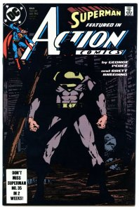 Action Comics 644 Aug 1989 NM- (9.2)