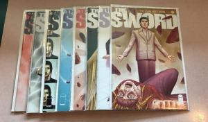 The Sword 13 14 15 18 20-22 24 8 Book Near Mint Lot Set Run