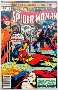 Spider-Woman #4 (NM-)(1978)