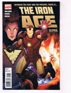 The Iron Age Alpha #1 VF Marvel Comics Comic Book Williams Avengers 2011 DE48