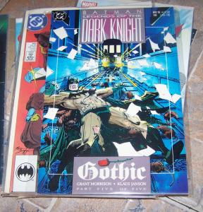 Batman: Legends of the Dark Knight  # 10 (AUG  1990, DC) GOTHIC+ GRANT  MORRISON