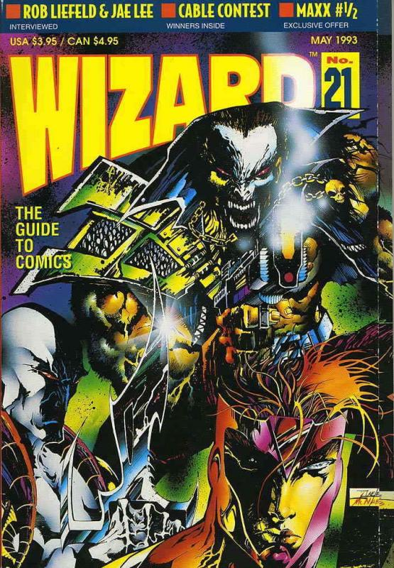Wizard: The Comics Magazine #21 FN; Wizard | save on shipping - details inside