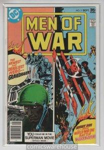 MEN OF WAR (1977 DC) #2 NM -03413