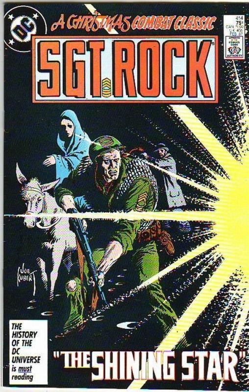 Sgt. Rock #414 (Feb-87) NM- High-Grade Sgt. Rock