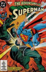 Adventures of Superman #497 (3rd) FN; DC   save on shipping - details inside