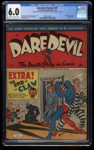 Daredevil Comics #31 CGC FN 6.0 Cream To Off White Death of the Klaw!