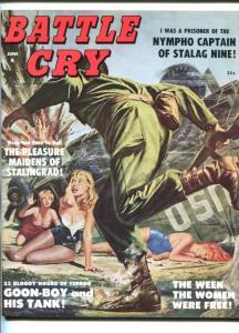 BATTLE CRY-JUNE1959-WOUNDED WOMEN-WWII-USO-fn