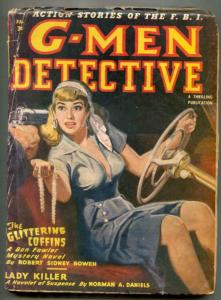 G-Men Detective Pulp Fall 1949- Glittering Coffins G