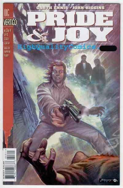 PRIDE & JOY #3, NM+. Garth Ennis, Vertigo , Guns, Mob, more in store
