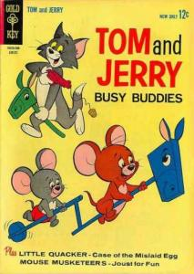 Tom and Jerry #216, VG- (Stock photo)