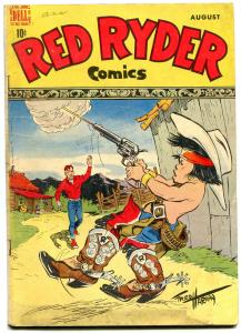 Red Ryder #61 1948-Dell Western Golden Age- Fred Harman VG
