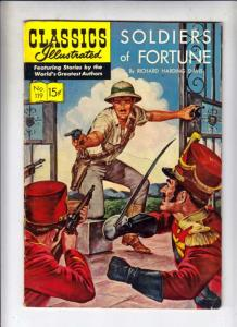 Classics Illustrated #119 (May-54) VG Affordable-Grade