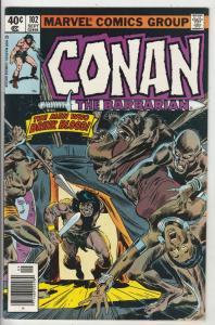 Conan the Barbarian #102 (Sep-79) NM- High-Grade Conan the Barbarian