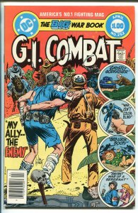 G.I. COMBAT #252 1983-DC-HAUNTED TANK-GLANZMAN-GIANT EDITION-KUBERT-nm
