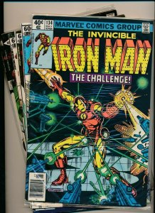 Marvel Comics Large LOT!! IRON MAN (see scans for issue #'s) FINE  (PF875)