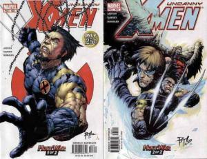 X MEN 423-424  Holy War COMICS BOOK