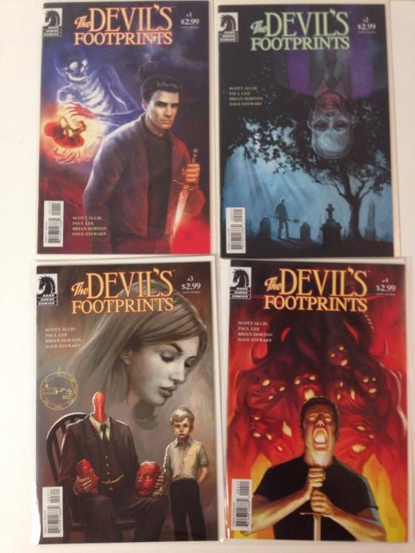 The Devils Footprints 1-4 Near Mint Lot Run Set