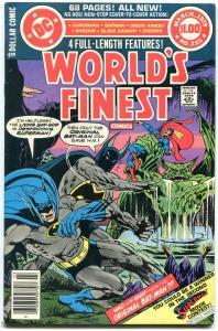 WORLDS FINEST #255 1979-BATMAN-SUPERMAN-BULLETMAN- GA VF-