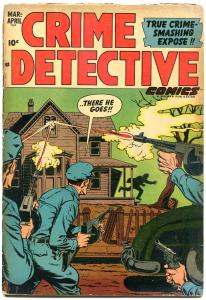 CRIME DETECTIVE COMICS V3 #7, VG-, 1953, Golden Age, Pre-code,more in store