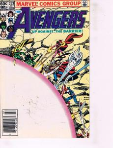 7 Avengers Marvel Comic Books # 233 234 235 236 237 238 239 Iron Man Vision MM6