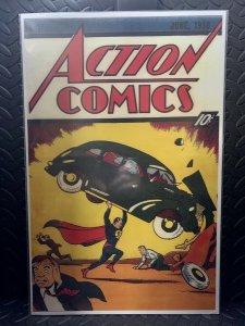 Action Comics #1 | Comic Book Cover Replica | 11x17 Poster