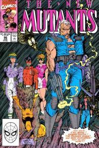 New Mutants (1983 series) #90, NM (Stock photo)