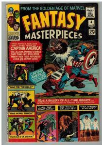 FANTASY MASTERPIECES (1966 1ST) 4 VG August 1966