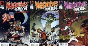 WEREWOLVES ON THE MOON VS VAMPIRES (2009 DH) 1-3