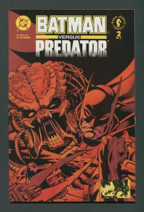 Batman vs Predator #2 / 9.6 NM+  Newsstand  January 1992