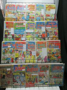Archie Comics Reader's Lot of 27Diff Feat: Jughead Reggie Betty Veronica!
