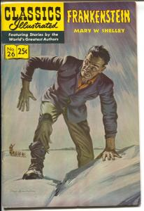 Classics Illustrated #26 1971-Frankenstein-Mary Shelley-Norman Saunders-HRN 169-