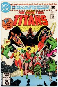 DC New Teen Titans #1 NM 9.6 WHITE pgs.  BRAND NEW - ORIGINAL OWNER 1980