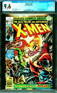 X-Men #105 CGC Graded 9.6 Firelord, Misty Knight, Eric the Red Appearance