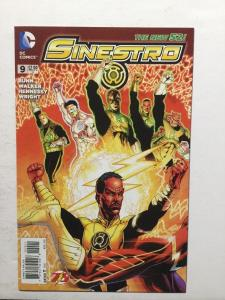 Sinestro 9 Variant Nm Near Mint