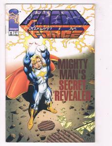 Freak Force (1993 1st Series) #6 ImageComic Book Mighty Man Origin HH3