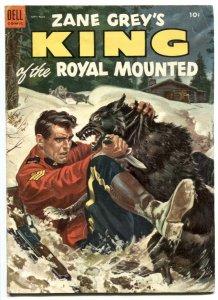King of The Royal Mounted  #13 1953- Dell comics VG+