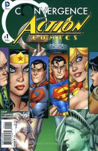 Convergence: Action Comics #1 VF; DC | save on shipping - details inside