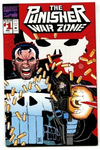 Punisher War Zone #1 First issue-Die-cut cover NM-
