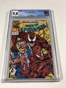 Web Of Spider-man 101 Cgc 9.8 White Pages Marvel