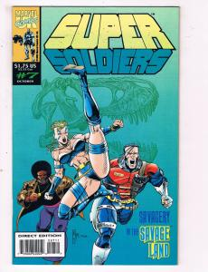 Super Soldiers #7 VF Marvel Comics Comic Book Oct 1993 DE23