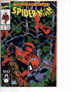 Marvel Comics Spider-Man #8 Todd McFarlane Story & Art Wendigo Wolverine